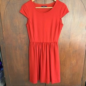 Madewell Small Fit and Flare dress